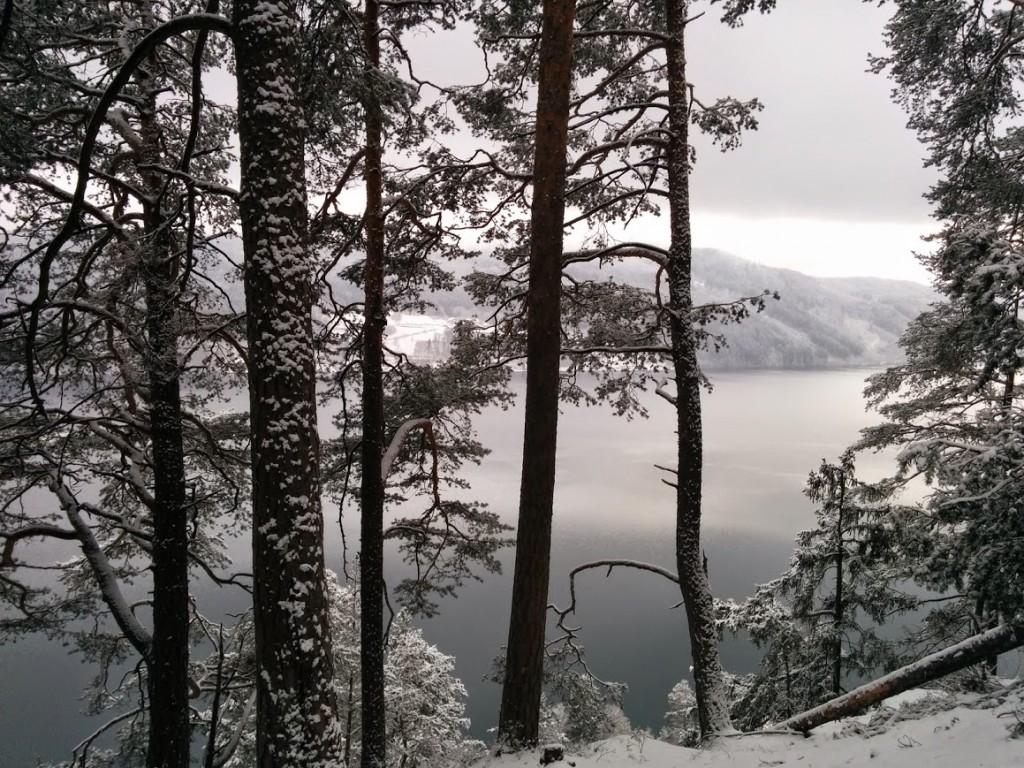 Lake Milstatt from  Kleindombra