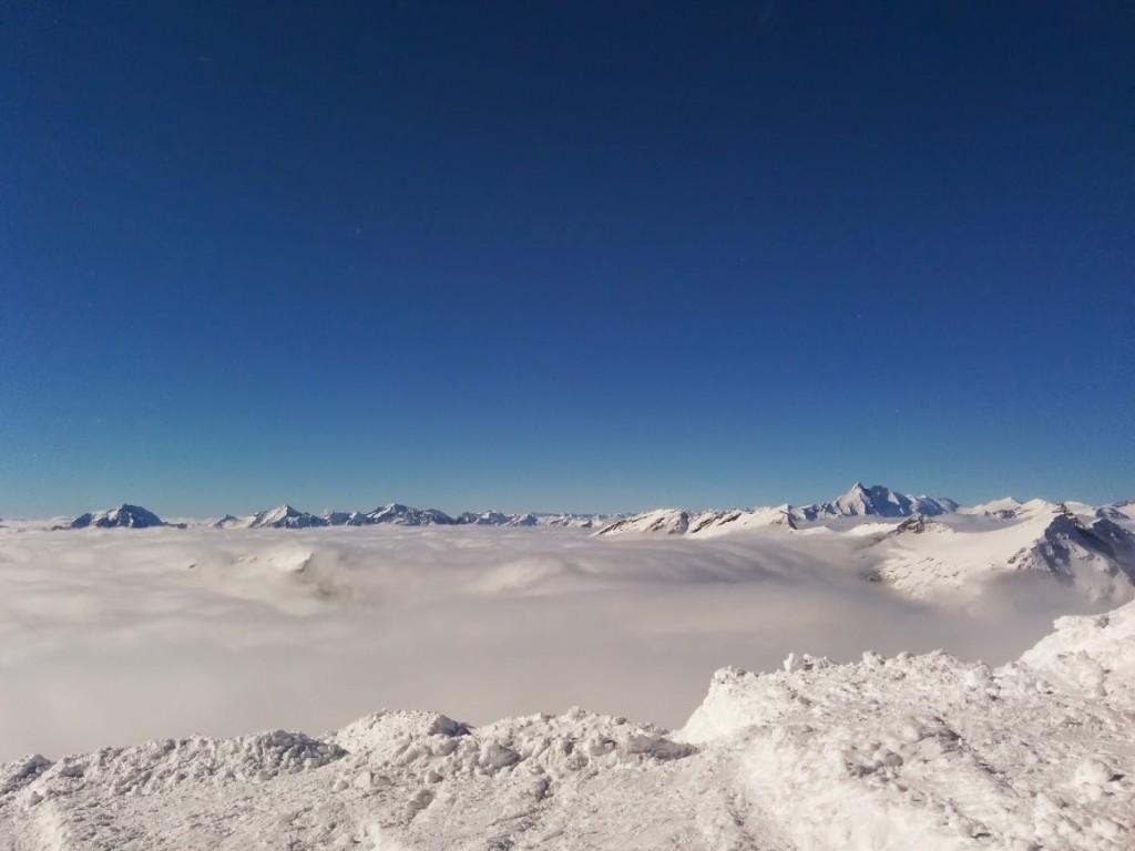 Fog at Mölltaler Gletscher